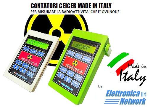 Contatori Geiger Guardian Ray made in Italy