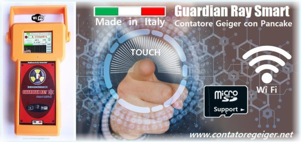 Contatore Geiger Made in Italy