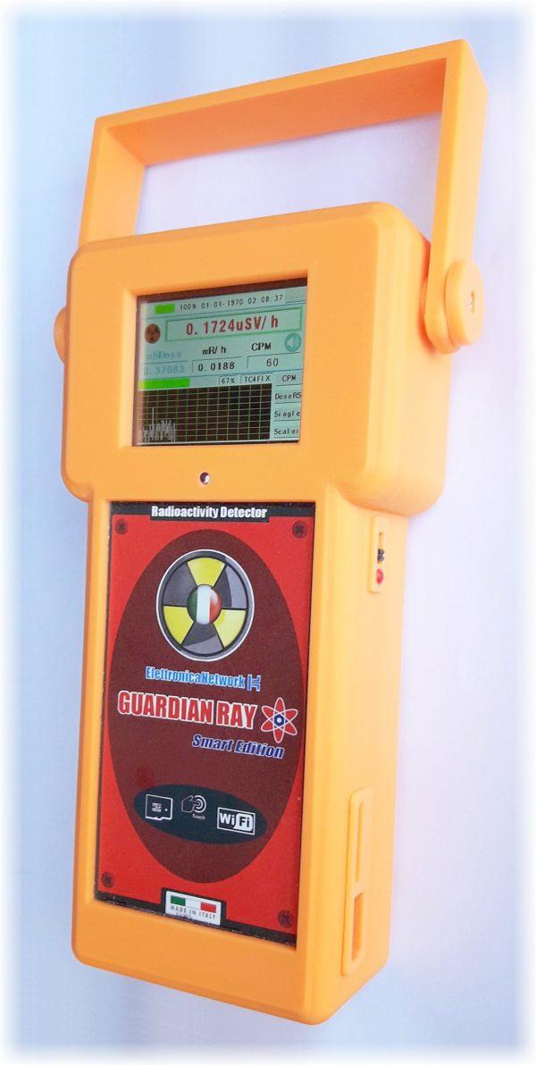 Nuovo Contatore Geiger Guardian Ray Smart con Pancake