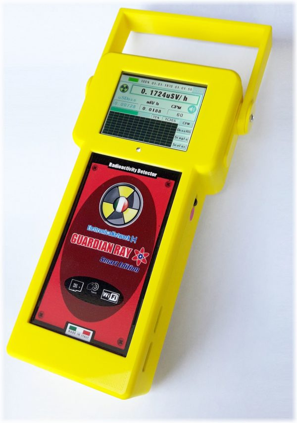 Contatore geiger professionale Guardian Ray Smart 2.8p giallo