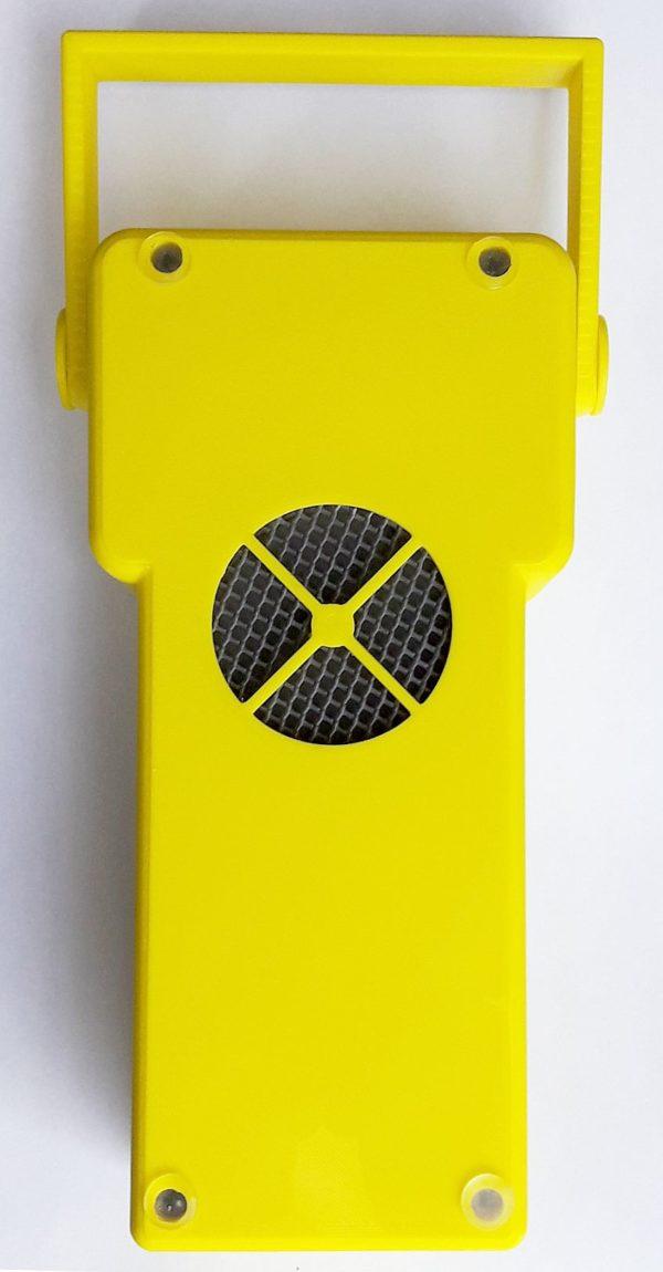 Contatore geiger professionale Guardian Ray Smart 2.8p giallo lato sonda pancake