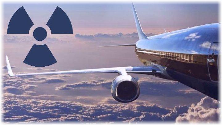 La radioattività in aereo ad alta quota