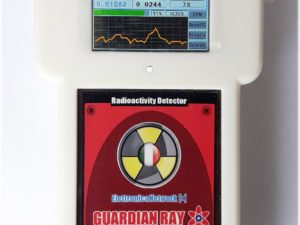contatore geiger Guardian Ray Smart bianco con LCD Touch 2.4 pollici
