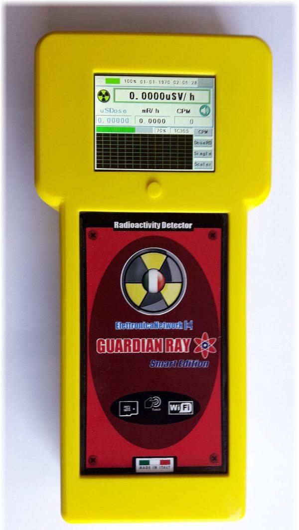Contatore Geiger Alfa, Beta, Gamma, Guardian Ray Smart 712 giallo