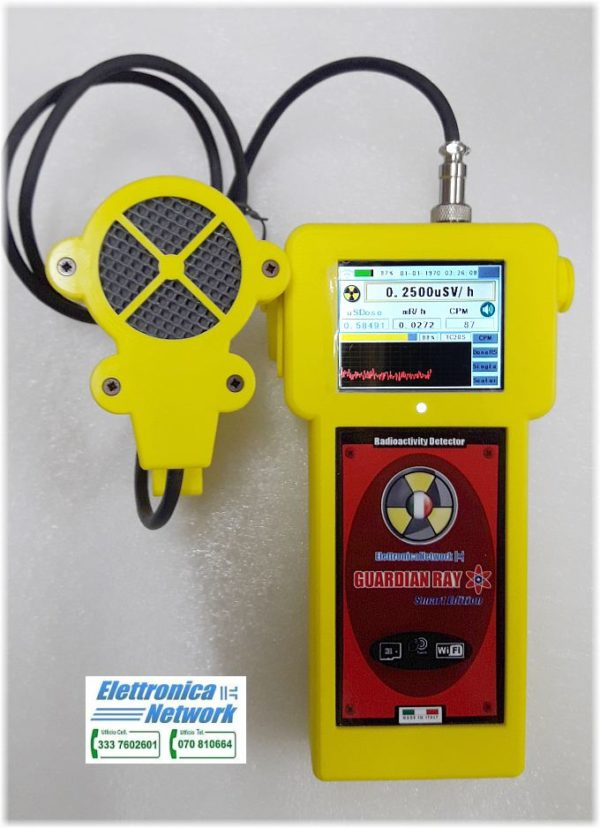 Contatore Geiger Guardian Ray Smart EXP made in Italy