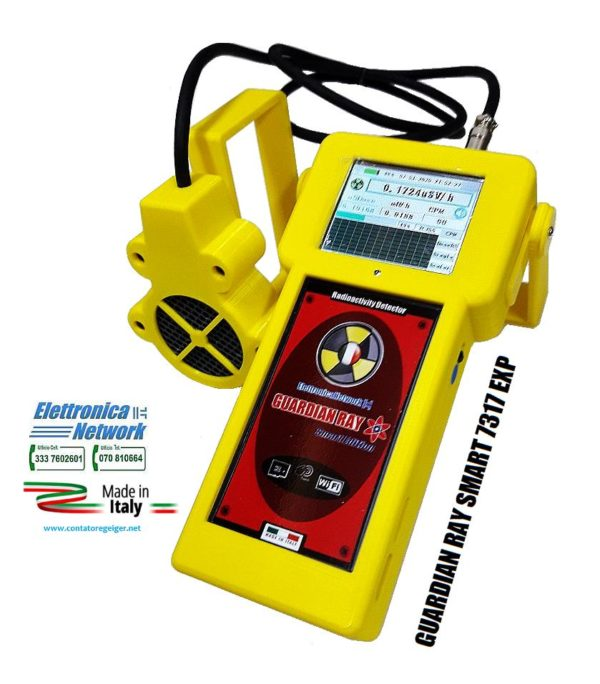 Contatore Geiger professionale Guardian-ray Smart-EXP-2.8p giallo