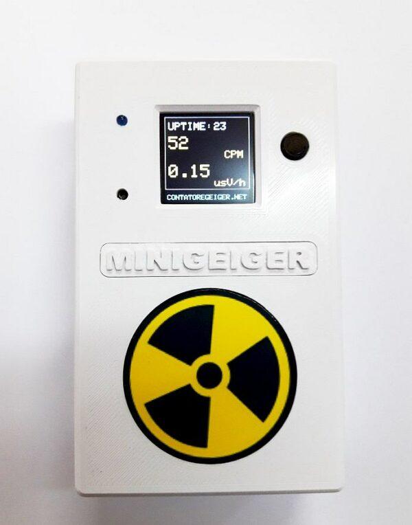 Contatore Geiger MINIGEIGER 7317 con sonda Pancake 6