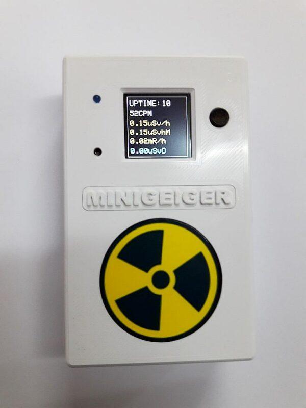 Contatore Geiger MINIGEIGER 7317 con sonda Pancake 5