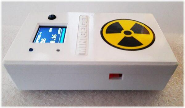 Contatore Geiger MINIGEIGER 7317 con sonda Pancake 1