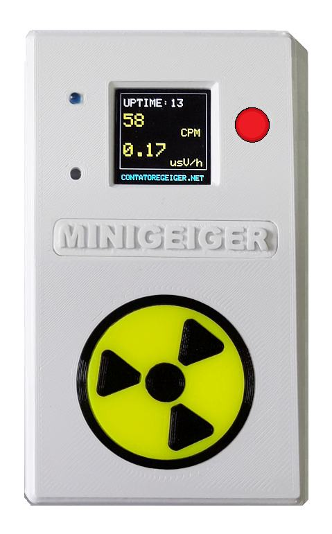 Contatore Geiger MINIGEIGER 7317 con sonda Pancake 2